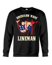 American Made Lineman Crewneck Sweatshirt thumbnail