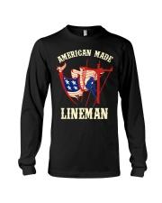 American Made Lineman Long Sleeve Tee thumbnail