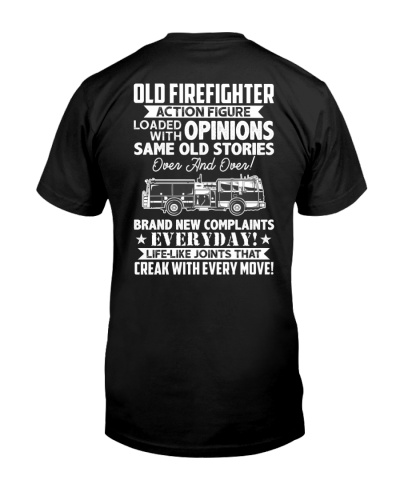 Old Firefighter Action Figure Loaded With Opinions