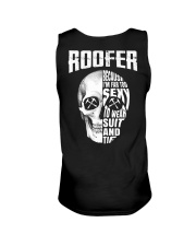 Roofer Because I'm Far Too Sexy To Wear Suit  Unisex Tank thumbnail