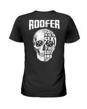 Roofer Because I'm Far Too Sexy To Wear Suit  Ladies T-Shirt thumbnail