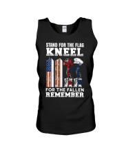 Stand for the flag Kneel for the fallen Remember Unisex Tank thumbnail