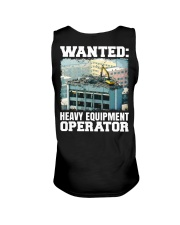 WANTED Heavy Equipment Operator  Unisex Tank thumbnail