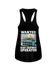 WANTED Heavy Equipment Operator  Ladies Flowy Tank thumbnail