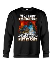 Welder I'm On Fire Crewneck Sweatshirt thumbnail