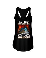 Welder I'm On Fire Ladies Flowy Tank thumbnail