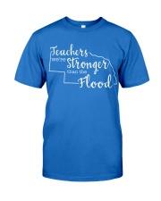Teachers We're Stronger Than The Flood Premium Fit Mens Tee thumbnail