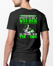 Welder You Have To Tie - Ins Classic T-Shirt lifestyle-mens-crewneck-back-5