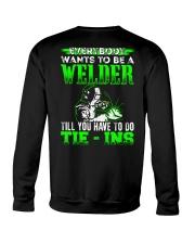 Welder You Have To Tie - Ins Crewneck Sweatshirt thumbnail