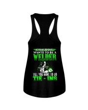 Welder You Have To Tie - Ins Ladies Flowy Tank thumbnail