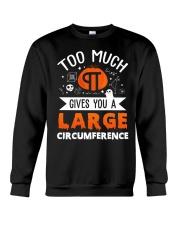 Gives You A Large Circumference Crewneck Sweatshirt thumbnail