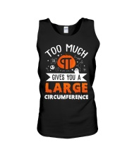 Gives You A Large Circumference Unisex Tank thumbnail
