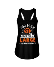 Gives You A Large Circumference Ladies Flowy Tank thumbnail