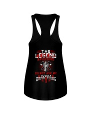 The Legend Has Retired - Firefighter Ladies Flowy Tank thumbnail
