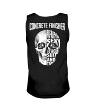 Concrete Finisher Because I'm Far Too Sexy To Wear Unisex Tank thumbnail