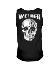 Welder Because I'm Far Too Sexy To Wear Suit  Unisex Tank thumbnail