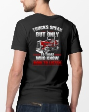 Trucks Speak To Those Who Know How To Listen Classic T-Shirt lifestyle-mens-crewneck-back-5