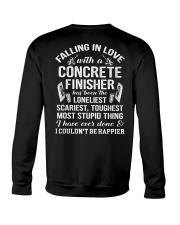 Fall In Love With A Concrete Finisher  Crewneck Sweatshirt thumbnail