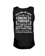 Fall In Love With A Concrete Finisher  Unisex Tank thumbnail