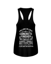 Fall In Love With A Concrete Finisher  Ladies Flowy Tank thumbnail