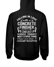 Fall In Love With A Concrete Finisher  Hooded Sweatshirt thumbnail