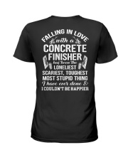 Fall In Love With A Concrete Finisher  Ladies T-Shirt thumbnail