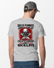 Skilled Plumbers Classic T-Shirt lifestyle-mens-crewneck-back-6