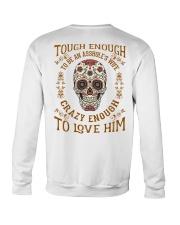 Crazy Enough To Love Him Crewneck Sweatshirt thumbnail