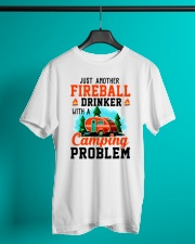 Just Another Fireball Drinker With A Camping Classic T-Shirt lifestyle-mens-crewneck-front-3