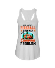 Just Another Fireball Drinker With A Camping Ladies Flowy Tank thumbnail