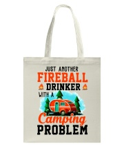 Just Another Fireball Drinker With A Camping Tote Bag thumbnail
