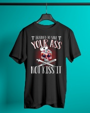 Trained To Save Your No Kiss It Classic T-Shirt lifestyle-mens-crewneck-front-3
