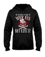 Trained To Save Your No Kiss It Hooded Sweatshirt thumbnail