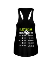 Electrician Hourly Rate Ladies Flowy Tank thumbnail