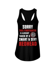 Sorry This Firefighter Is Already Taken By A Smart Ladies Flowy Tank thumbnail