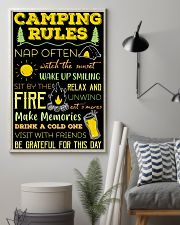 Camping Rules  11x17 Poster lifestyle-poster-1