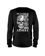 Plumber I've Only Met About 3 Or 4 Long Sleeve Tee thumbnail