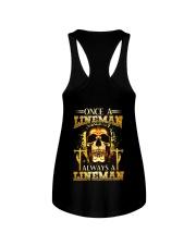 One A Lineman Always A Lineman Ladies Flowy Tank thumbnail