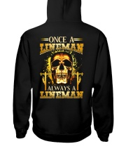 One A Lineman Always A Lineman Hooded Sweatshirt thumbnail