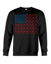 Flag Teacher Crewneck Sweatshirt thumbnail