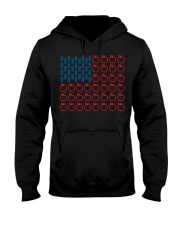 Flag Teacher Hooded Sweatshirt thumbnail