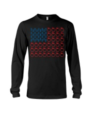 Flag Teacher Long Sleeve Tee tile
