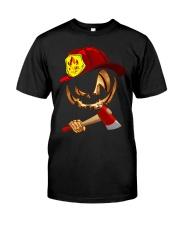 Firefighter's Halloween Classic T-Shirt front