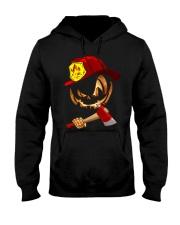 Firefighter's Halloween Hooded Sweatshirt thumbnail