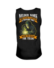 Welder Work Where You Have To Almost Die A Thousan Unisex Tank thumbnail