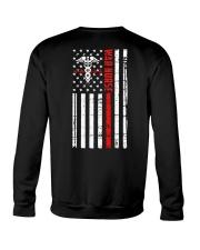 War Nurse Flag Crewneck Sweatshirt thumbnail