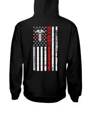War Nurse Flag Hooded Sweatshirt thumbnail