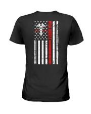 War Nurse Flag Ladies T-Shirt thumbnail