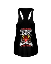 Lineman I Hold A Beast An Angel And A Madman Ladies Flowy Tank thumbnail