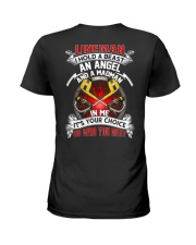 Lineman I Hold A Beast An Angel And A Madman Ladies T-Shirt thumbnail